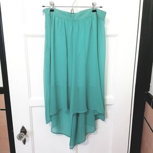 Forever 21 asymmetrical skirt